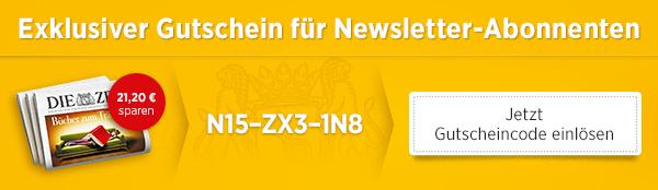 Anzeige: DIE ZEIT Abo // Gutschein für NL-Abonnenten