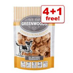 """<span style=""""font-size:14px;"""">100g Greenwoods Nuggets Dog Treats - 4 + 1 Free!*</span> >>"""