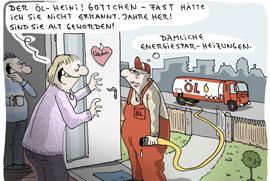 Weniger Öl verbrauchen mit einer neuen Ölheizung