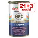 3 lattine GRATIS! - Almo Nature HFC<br />(24 x 140 g) >>