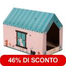 Super sconto! - Casetta XL Home<br />con Graffiatoio >>