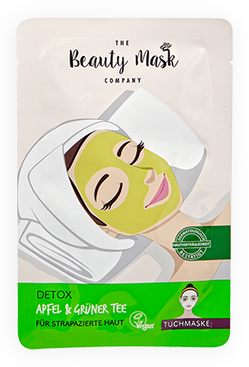 The Beauty Mask DETOX Apfel & Grüner Tee