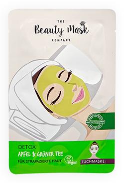 The Beauty Mask DETOX Apfel & Grüner Tee