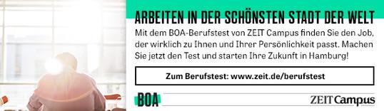 Anzeige: ZEIT Campus // BOA