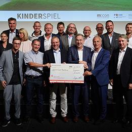 40.000 Euro zugunsten der Kinderkrebsforschung