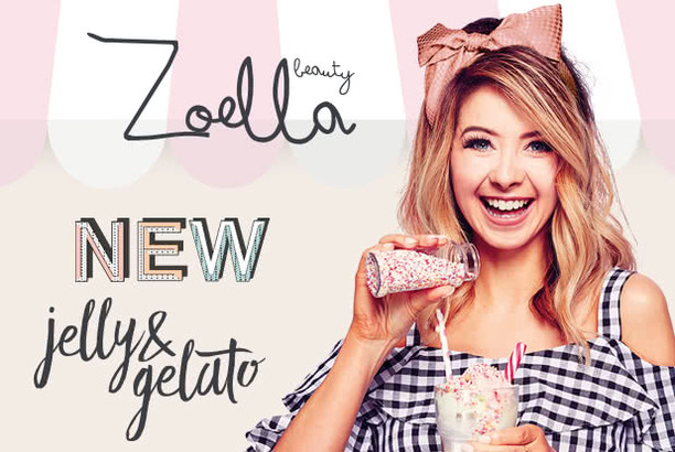 "Zoella beauty ""jelly & gelato"""