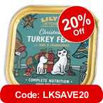 Lily's Kitchen Christmas Turkey Feast for Cats >>
