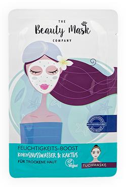 The Beauty Mask FEUCHTIGKEITS-BOOST Kokosnusswasser & Kaktus