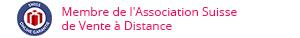 Membre de l'Association Suisse de Vente à Distance