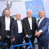 """m:con auf der Stallwächter-Party - """"200 Jahre Fahrrad – tRADition trifft vision"""""""