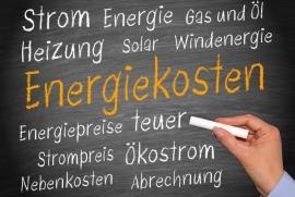 Entwicklung Energiepreise