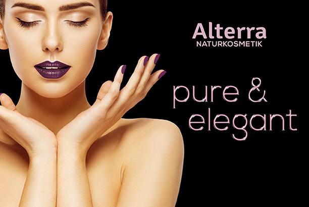 """Alterra Naturkosmetik """"pure & elegant"""""""