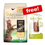 """<span style=""""font-size:13px;"""">1.8/2kg Applaws Dry Cat Food + 30g Tuna Loin Free!*</span> >>"""