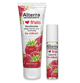 "Alterra ""I love fruits"" Erdbeere"