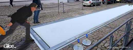 Eisstockschießen am Best Western Plus Hotel Bautzen