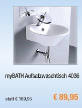 myBATH                                             Aufsatzwaschtisch 4036