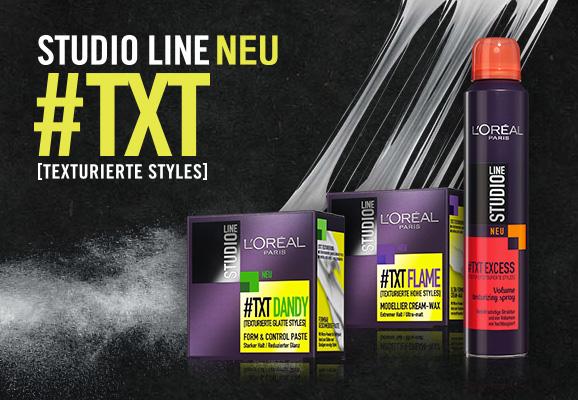 L'Oréal Studio Line #TXT Produkte