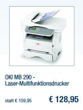 OKI MB 290 -                                             Laser-Multifunktionsdrucker