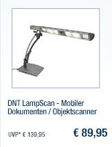 DNT LampScan - Mobiler                                             Dokumenten/Objektscanner