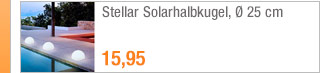 Stellar Solarhalbkugel,                                             Ø 25 cm