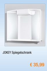 JOKEY Spiegelschrank,                                             versch Ausführungen