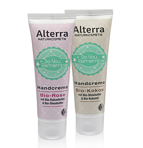 "Alterra ""Do you remember"" Handcreme"