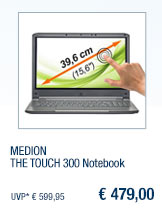 MEDION THE TOUCH 300                                             Notebook