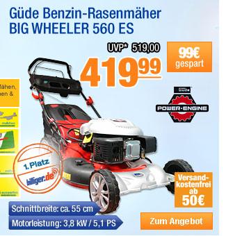 Güde Benzin-Rasenmäher                                           BIG WHEELER 560 ES