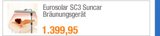 Eurosolar SC3 Suncar                                             Bräunungsgerät