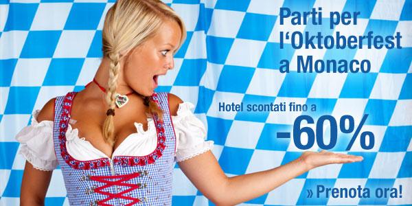 Oktoberfest: hotel scontati a Monaco