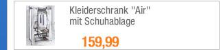 """Kleiderschrank                                             """"Air"""" mit                                             Schuhablage"""