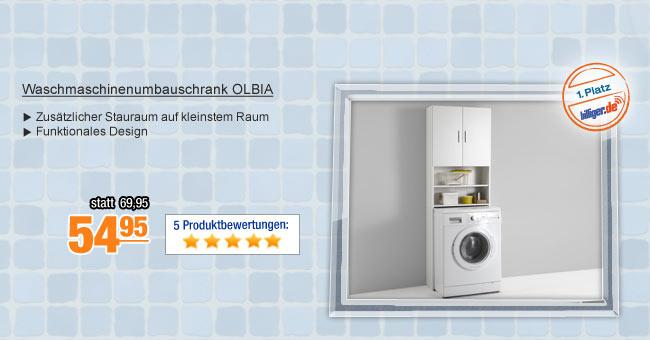 Waschmaschinenumbauschrank                                             OLBIA