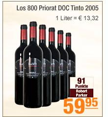 Los 800 Priorat DOC                                             Tinto 2005