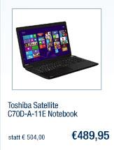 Toshiba Satellite                                             C70D-A-11E Notebook