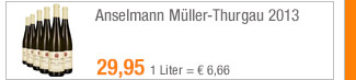 Anselmann                                             Müller-Thurgau 2013