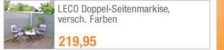 LECO                                             Doppel-Seitenmarkise,                                             versch. Farben