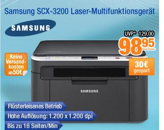 Samsung SCX-3200                                           Laser-Multifunktionsgerät