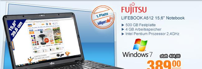"""Fujitsu LIFEBOOK A512                                             15,6"""" Notebook"""
