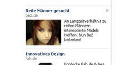 Anstößige Werbeanzeige verärgert Facebook-Fans