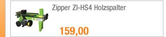 Zipper ZI-HS4                                             Holzspalter