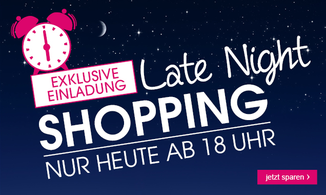 Late Night Shopping bei babymarkt.de