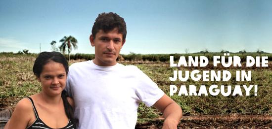 Seit zwei Jahren kämpfen Dolores Peralta und Luis Olmedo aus Paraguay um das Land, das ihnen geraubt wurde.
