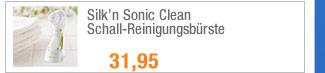 Silk`n Sonic Clean -                                             Schall-Reinigungsbürste