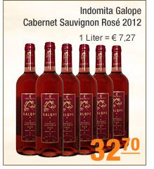 Indomita Galope -                                             Cabernet Sauvignon Rosé 2012