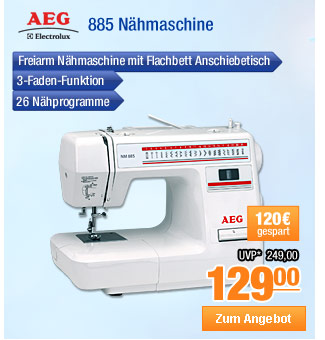 AEG 885 Nhmaschine