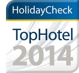HolidayCheck TopHotel 2014 Logo