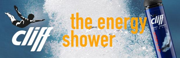 Cliff energy shower