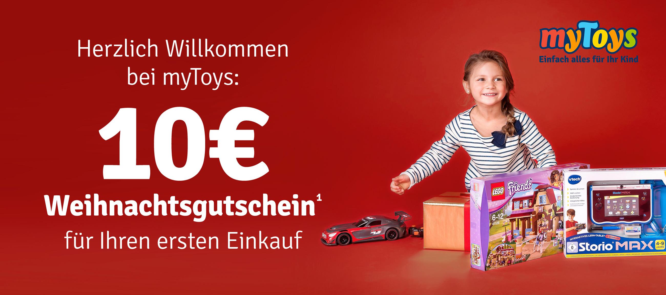 10€ Rabatt auf Ihren ersten Einkauf