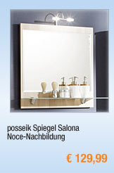 posseik Spiegel Salona,                                             Noce-Nachbildung