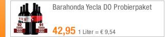 Barahonda Yecla DO                                             Probierpaket